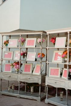 Great way to display escort cards