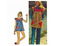 I sewed this pattern in junior high! 1974