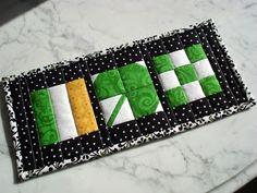 The Way I Sew It: St. Patrick's Day Mug Rug