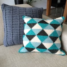 Tunisch haken - Tunesian crochet delignycreations.blogspot.nl