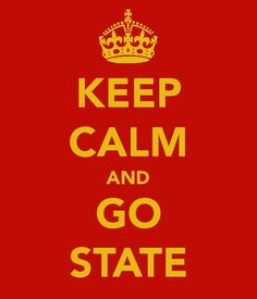 Keep Calm and Go State (Mississippi State University)