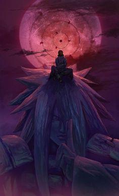 Obito - Madara - Uchiha - Akatsuki, NARUTO - one of my fav characters, even tho he was an evil his dream was understandable Sasuke Sakura, Naruto Shippuden Sasuke, Anime Naruto, Gaara, Madara Susanoo, Itachi Uchiha, Boruto, Manga Anime, Kakashi