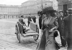 Gian Carlo Dall'Armi Torino, Piazza Castello 1911 #TuscanyAgriturismoGiratola