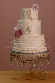 1920's INSPIRED WEDDING THEMES | Wedding Cakes Mondays: 1920′s Wedding Cakes