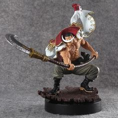 One Piece WHITE BEARD Pirates Edward Newgate Figure Statue Toy