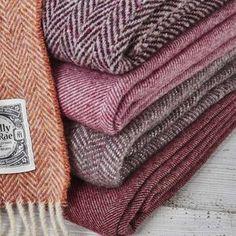 Luxury Plum Berry Blankets - blush bedroom