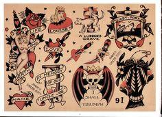 29 ideas for tattoo traditional flash sketches sailor jerry Sailor Jerry Flash, Dragon Tattoo Back Piece, Dragon Sleeve Tattoos, Ed Hardy Tattoos, Sailor Jerry Tattoos, Old School Tattoo Designs, Traditional Tattoo Design, Japanese Dragon Tattoos, Traditional Tattoo Flash