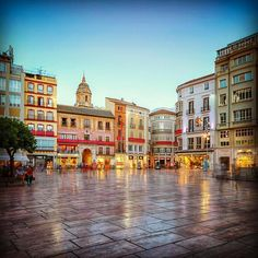 Málaga Plaza de la Constitución