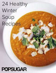 24 Winter-friendly soups and stews! All healthy, nutrient-packed recipes here.