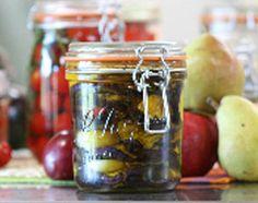 Recette Conserve d'aubergines à l'huile