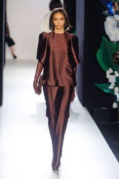 Mulberry Fall 2013 runway #fashionweek