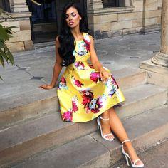 a0d2f2b46c96 44 best How to Accessorise a Floral Dress images | Ladies ...