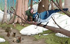 Mouse Guard: Pathfinders by *Kanthara on deviantART