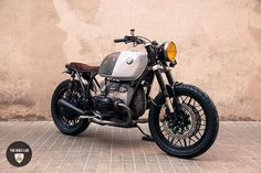 Amazing Bmw R100 Brat Style Panda by The Bike Lab #bratstyle #motorcycles #motos | caferacerpasion.com