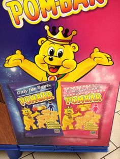 """Gendered Pom-bar """"wild"""" for boys and """"sweet"""" for girls. Pitting boys and girls against one another."""