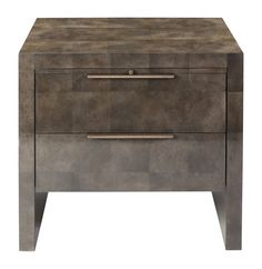 Buy William Bedside Table by Ryan Jackson - Limited Edition designer Furniture from Dering Hall's collection of Contemporary Transitional Nightstands & Bedside Tables.
