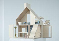 Domki dla lalek de lux! Dziewczynki oszaleją [zdjęcia] | DesignAlive
