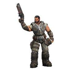 NECA Gears of War 3 Series 2 Action Figure Dominic Santiago