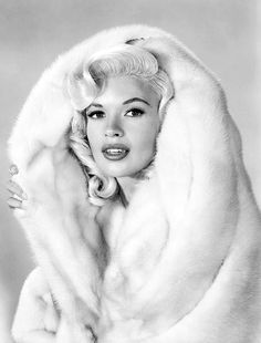 Jayne Mansfield photographed by Wallace Seawell in 1957.