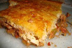Torta de Sardinha - esta e muitas outras #receitasdukan você encontra no Dieta e Receitas! #tortadukan
