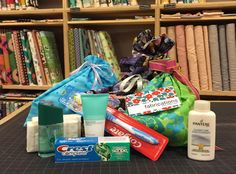 Welcome kits for women's shelters