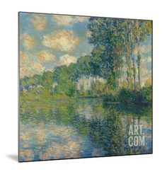 Poplars on the Epte Giclee Print by Claude Monet at Art.com