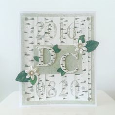 wedding card in nature theme