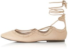 Womens light peach shoe from Topshop - £26 at ClothingByColour.com