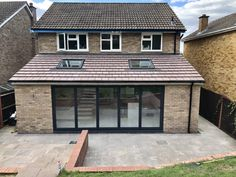 Single Storey - Kitchen Extension in Bromley - SLR Developments Orangerie Extension, Extension Veranda, Conservatory Extension, House Extension Plans, House Extension Design, Extension Designs, Rear Extension, Extension Ideas, Orangery Extension Kitchen