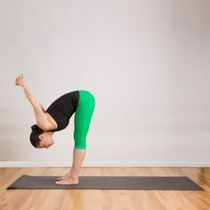 This relaxing stretch is a great way to begin stretching both hamstrings at the same time while also increa...
