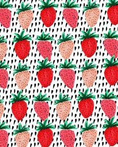 Colorful Strawberries II.
