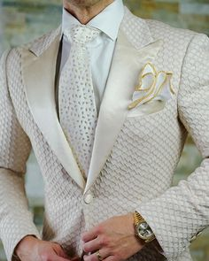 Sebastian Cruz Couture Want to get OFF? Simply add 5 items to your cart. Tuxedo Wedding, Wedding Men, Wedding Suits, Suit Fashion, Mens Fashion, Blazer Outfits Men, Wedding Outfits For Groom, Sheer Wedding Dress, Groom And Groomsmen Attire