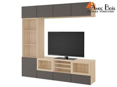 TV is the center of attraction in your Home, where the family sits together and .TV is the center of attraction in your Home, where the family sits together and makes so many Memories. Tv Storage Unit, Dvd Storage, Bedroom Bed Design, Modern Bedroom, L Shaped Tv Stand, Long Tv Unit, Floating Tv Unit, Attraction, Craftsman Living Rooms