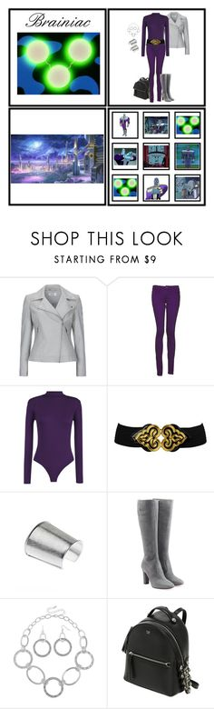 """Inspired by Braniac (1286)"" by trufflelover ❤ liked on Polyvore featuring Wallis, Monkee Genes, WearAll, Forever 21, L'Autre Chose, Mixit and Fendi"
