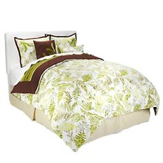 Vern Yip (the best designer ever!), has this beautiful bedding set available on HSN