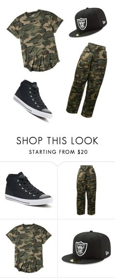 """""""Untitled #1"""" by dzenaan7 ❤ liked on Polyvore featuring Converse, Hood by Air, Hollister Co., men's fashion and menswear"""