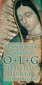 Our Lady of Guadalupe Feast Day Link-Up