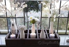 Spring Decorating on the Window Sill