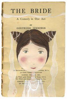 katherine quinn | Katherine Quinn - the bride | new work, by me...