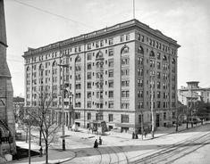 Dayton Ohio Circa 1904 Algonquin Hotel Ludlow And Third