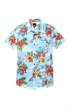 Fyasko Big Kahuna Short Sleeve Woven Shirt #pacsun