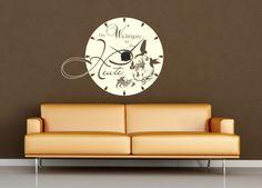 Luxury Wandtattoo Uhr Das wichtigste ist das heute von klebe monster de