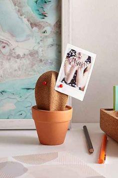 Cactus Cork Desk Organizer - Urban Outfitters