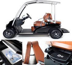 Garia 2+2 luxury golf cart