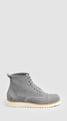 THE EDMUND BOOT GREY SUEDE I Love Ugly 35d0301935