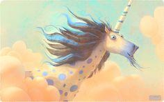 The secret of unicorn on Behance
