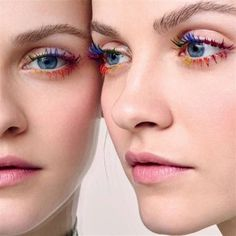 Tendenza make-up estate 2016: mascara colorato per ciglia multicolor - VanityFair.it