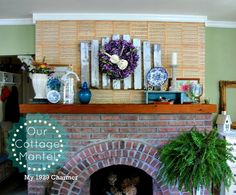 My 1929 Charmer Cottage Mantel