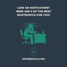 Low on motivation - here are 5 of the best nootropics for you right now
