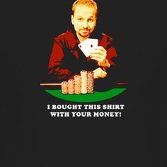 Poker Champion Daniel Negreanu Black T Shirt